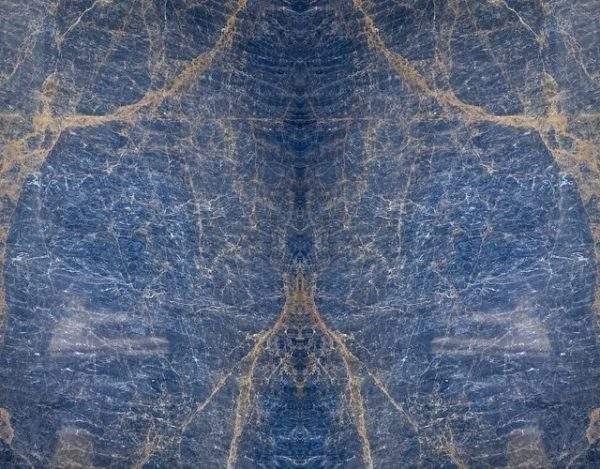 Marmura Dorato Blue Bookmatched