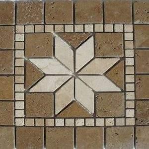 Medalion Mozaic Travertin 02