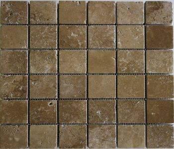 Mozaic Travertin Noche 4,8x4,8