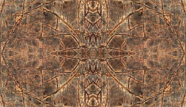 Marmura Rainforest Brown Bookmatched