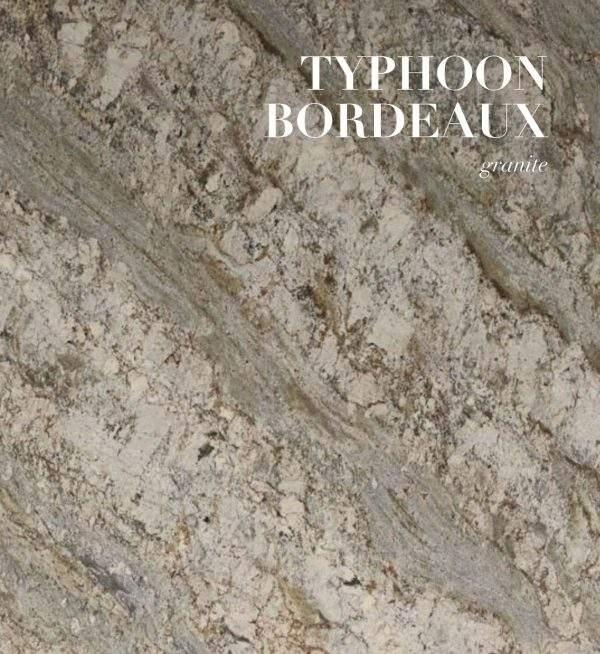 Typhoon Bordeaux granit